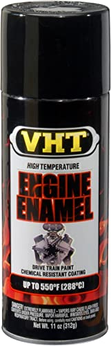 Vht Engine Enamel Gloss Black Can