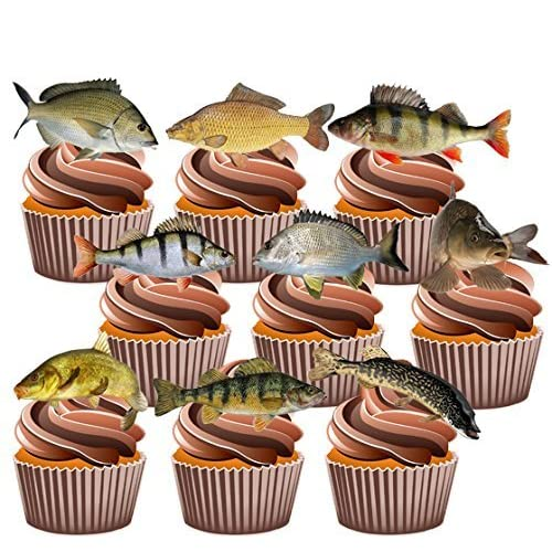 Fish Cake Decorations: Amazon.co.uk