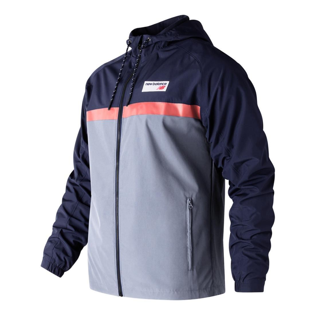 b11b3970d9f03 Amazon.com: New Balance Men's Athletics 78 Pocketed Reflective Jacket:  Clothing