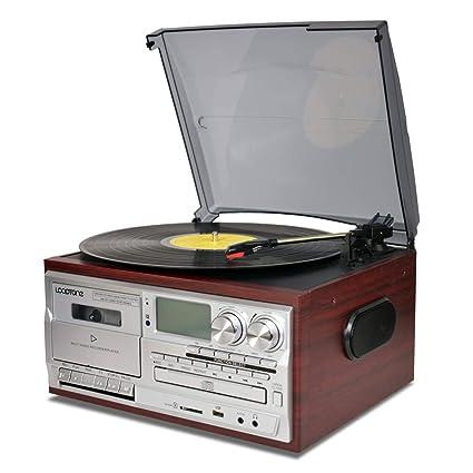 Amazon.com: LoopTone - Reproductor de discos de vinilo con ...
