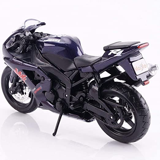 Poooc 1/18 Modelo de Motocicleta Kawasaki H2R Dukadi Demon ...