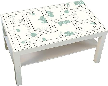 Muebles adhesivos infantiles Calles – Compatible con Ikea Lack ...