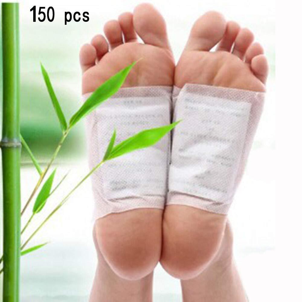 Cure-pieds De D/ésintoxication De Nettoyage Patch /à Base De Plantes D/étoxifier Les Toxines Adh/ésif Rester En Forme Soins De Sant/é Am/éliorer Le Sommeil Beaut/é Minceur