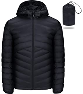 Generic Mens Winter Flight Down Jackets Warm Zip-Up Thicken Down Jacket Coats