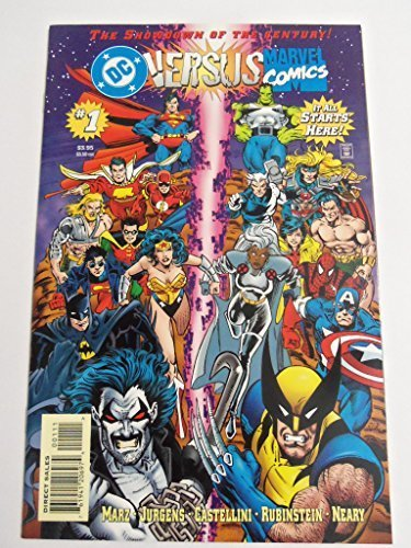 DC Versus Marvel #1 : Round One (DC - Marvel Comics) (Wolverine Vs Spiderman Vs Hulk Vs Batman)