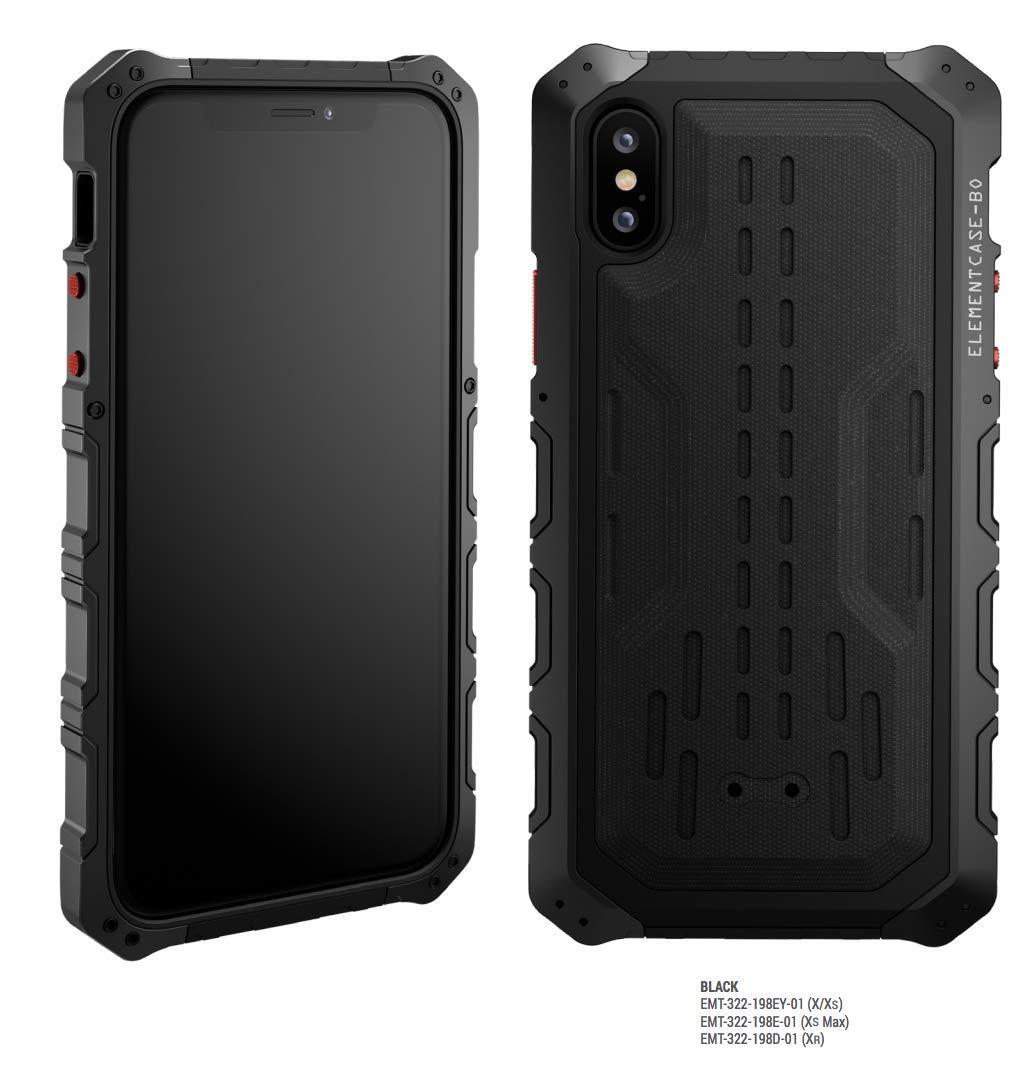 Element Case Black Ops '18 Drop Tested case for iPhone Xs Max - Black (EMT-322-198E-01)