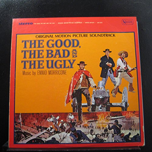 Ennio Morricone - The Good, The Bad And The Ugly - Original Soundtrack - Lp Vinyl Record