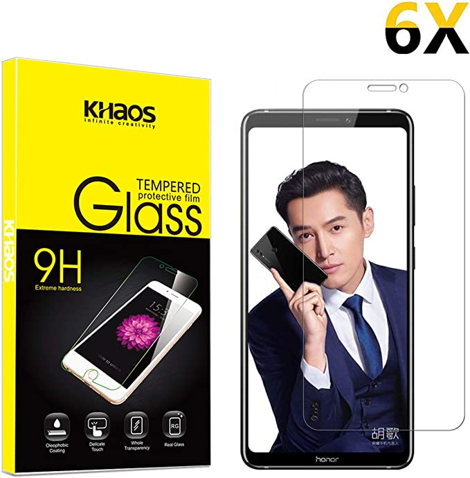 4-Pack Black Screen Protector for Samsung S9 Plus 3D Full Cover Case Friendly KHAOS Tempered Glass Screen Protector for Samsung Galaxy S9 Plus