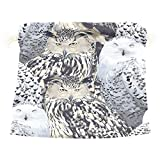 Dragon Sword Eagle Owl And Polar Gift Bags Jewelry Drawstring Pouches for Wedding Party, 5.5x5.5(in)