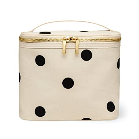 4261690fd Amazon.com: Kate Spade New York Insulated Soft Cooler Lunch Tote with  Double Zipper Close and Carrying Handle, Big Deco Dot: Toys & Games