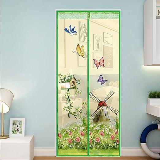 Fliegengitter Tür Insektenschutz Magnetischer Fliegenvorhang Für