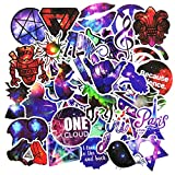 50 Pcs Galaxy Stickers Mixed Toy Cartoon Skateboard Luggage Vinyl Decals Laptop Phone Car Styling Bike JDM DIY Sticker