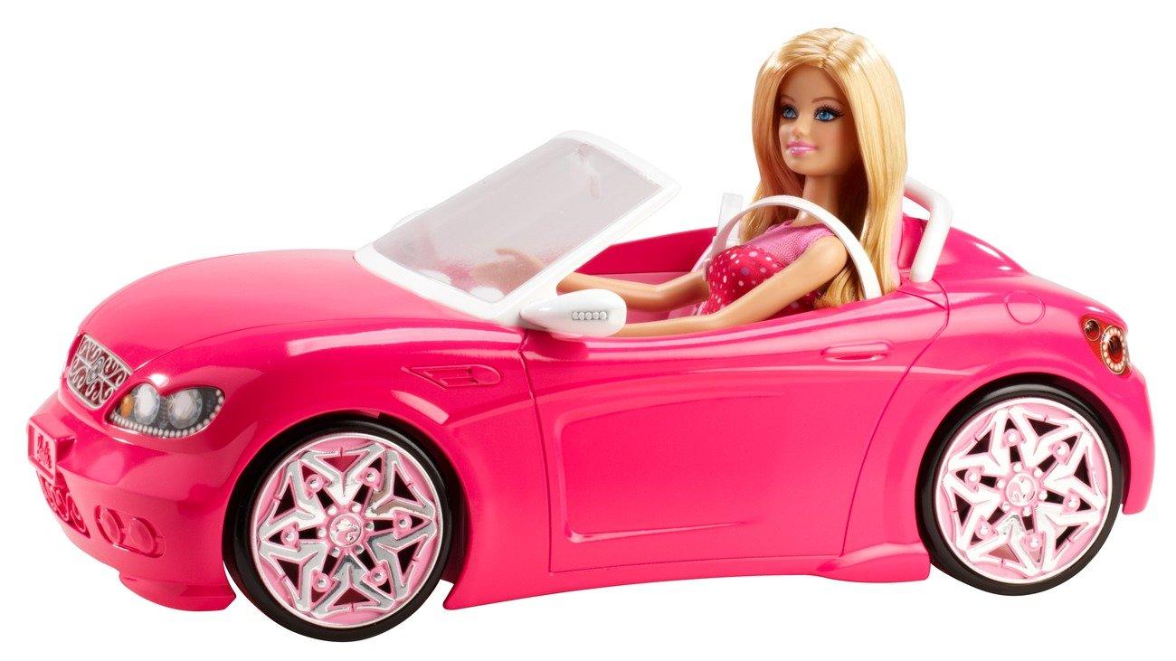 Mattel Barbie BJP38 Cabrio inklusive Puppe