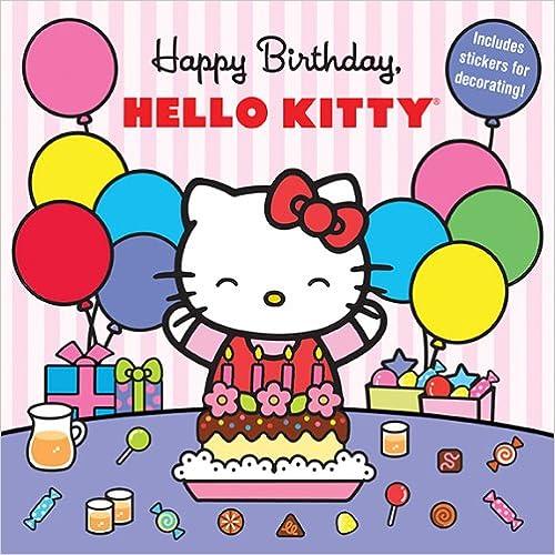 Book Happy Birthday, Hello Kitty