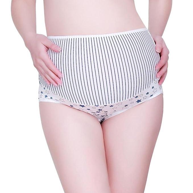 Ropa Interior Mujer, RETUROM Stripe patrón embarazo maternidad embarazadas ropa interior bragas: Amazon.es: Ropa y accesorios