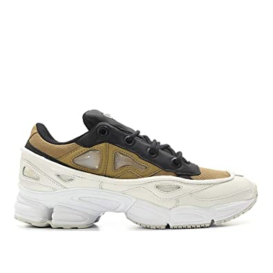 c572cfbd9 Amazon.com | adidas by RAF Simons Men's Ozweego III Optic White/Khaki/Core  Black 7.5 D UK | Shoes