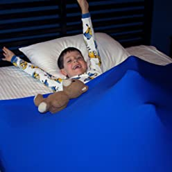 Huggaroo Pouch (Stretchy Sensory Bed Sheets) (Twin, Royal Blue)
