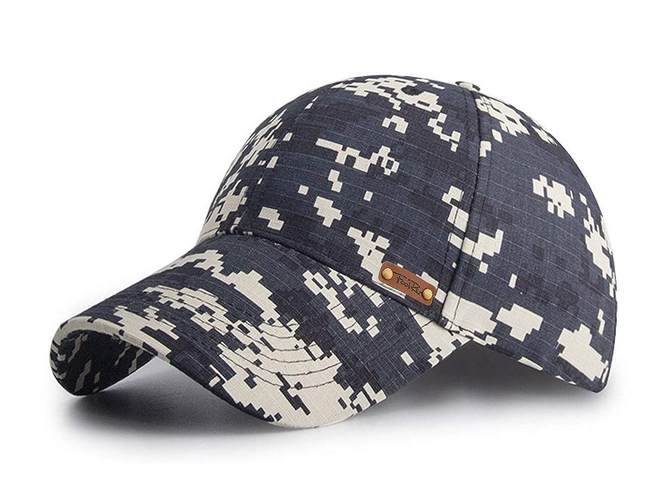 FOOKREN Casquette de Baseball Casquette de Camouflage Militaire Activit/és en Plein air Camping et la Chasse Casquette