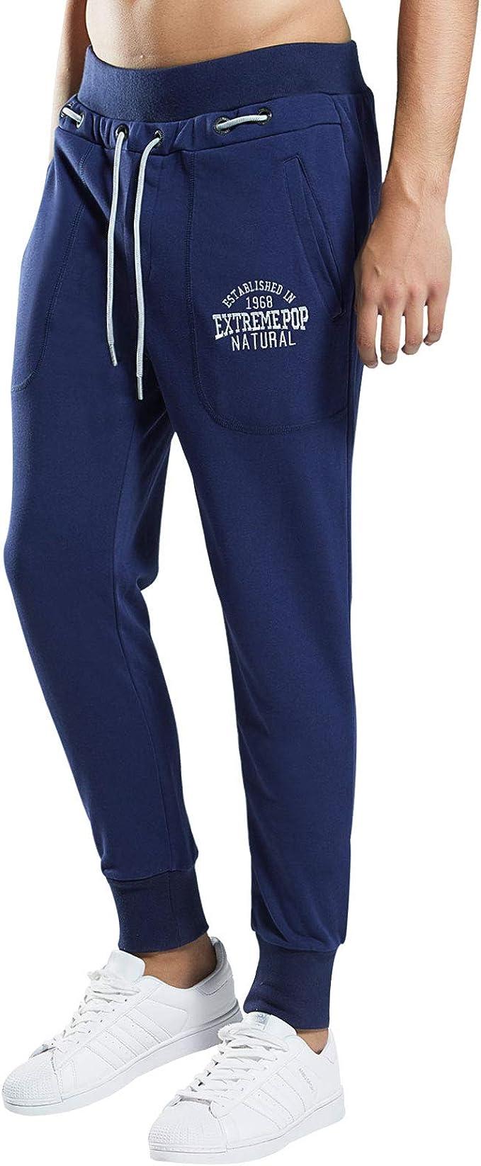 Extreme Pop Hombre Joggers atléticos Pantalones de chándal con ...