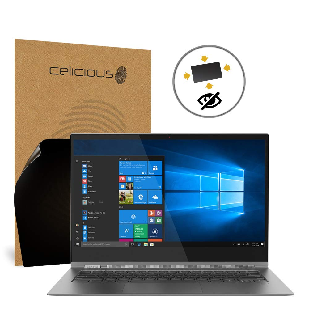 Celicious Privacy Plus 4-Way Anti-Spy Filter Screen Protector Film Compatible with Lenovo Yoga C930 13.9 by Celicious (Image #1)