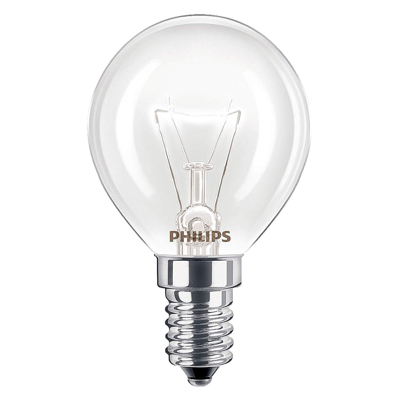 2 x Philips Oven 40w Lamp SES E14 Small Screw Cap 300Ã'° Cooker Light Bulb Fits AEG/Bosch/Siemens/Neff/Hotpoint