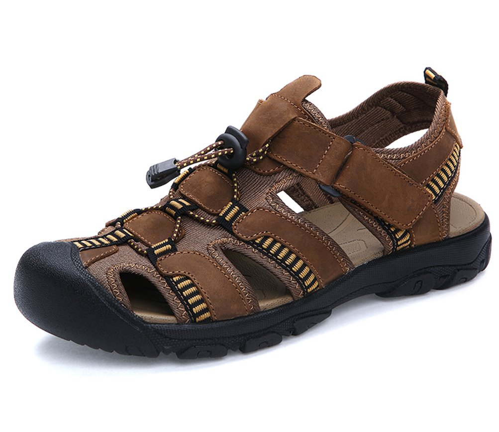 Senneak - Sandalias de Vestir de Otra Piel para Hombre 45 EU|楼枚楼é楼娄楼ó