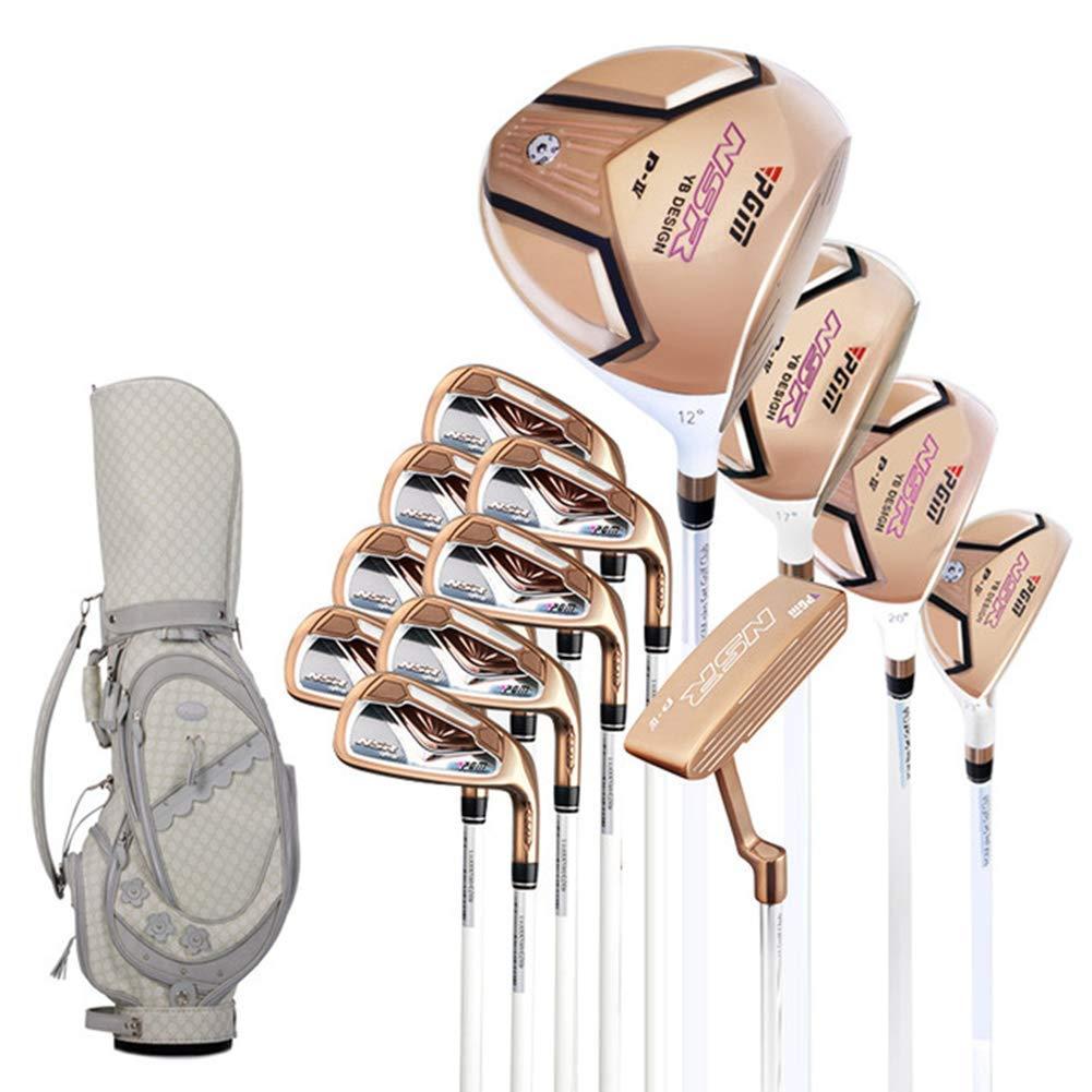Amazon.com: DSLINA Golf Club Pole NSR - Polo de oro rosa/oro ...