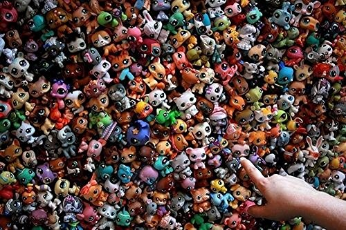 MINI Doll Lot 20 PCS Littlest Pet Shop Dog Loose Child Girl Toys LPS Gift - Hot choice