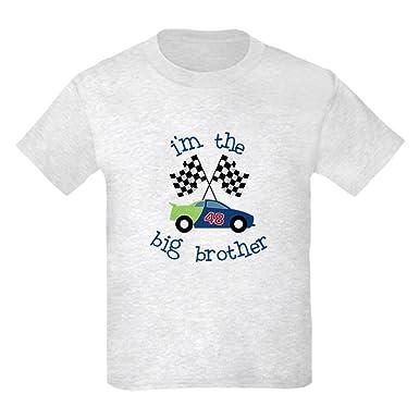 669c9a8e Amazon.com: CafePress - Big Brother Race Car - Kids Cotton T-shirt ...
