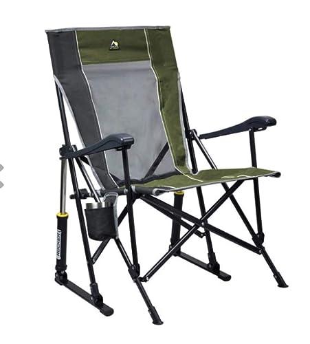 GCI Roadtrip Rocking Chair Outdoor Loden Green/Pewter