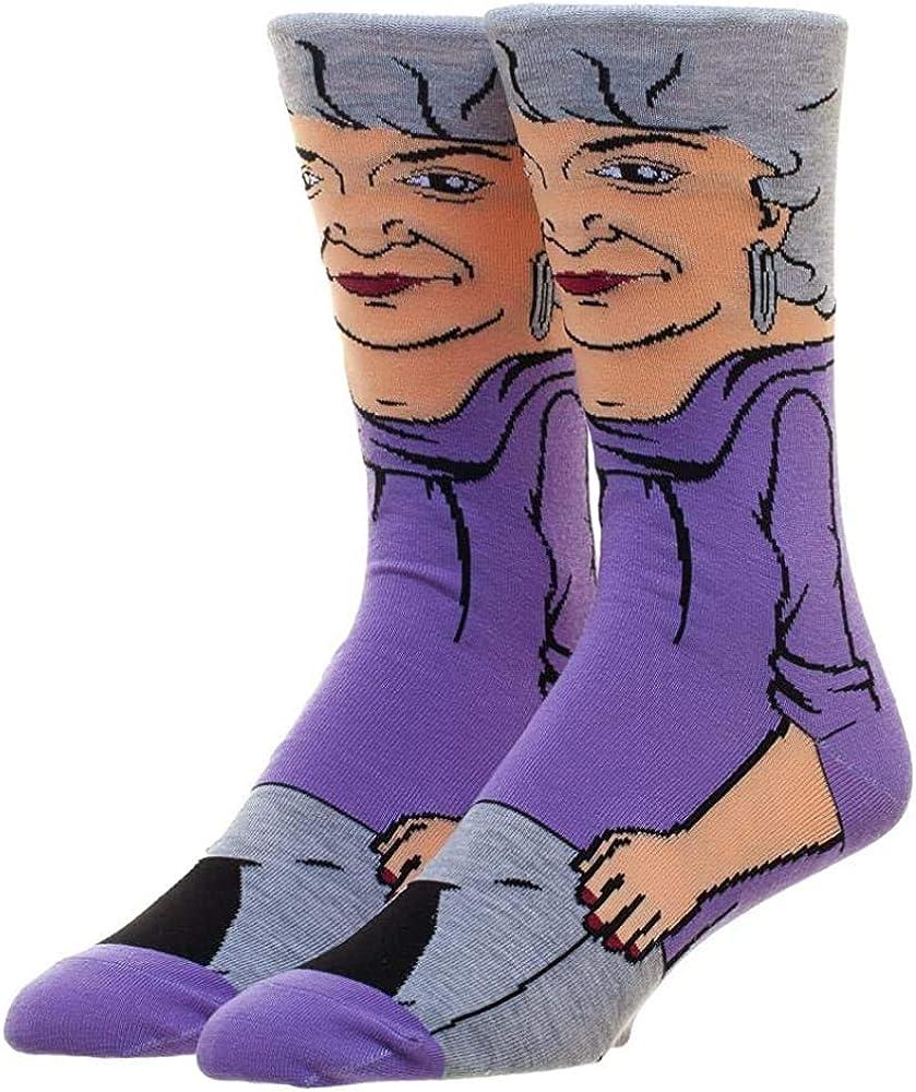 The Golden Girls Dorothy 360 Character Crew Socks