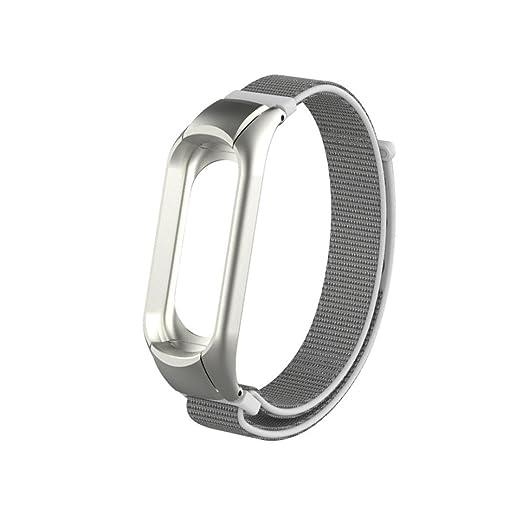 Xiaomi Band 3 Pulsera Correa de Reloj Inteligente, Sport Watch Band, Nylon Banda Pulsera Correa, Replacement Bracelet Strap, Sencillo Vida: Amazon.es: ...