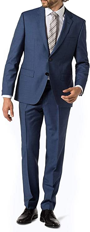 Amazon.com: Hugo Boss - Traje de lana para hombre con diseño ...