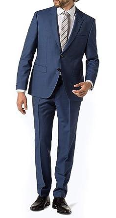 e53376ad6 Hugo Boss Men's Wool 2 Piece Tic Pattern Extra Slim Fit 2 Piece Luxurious  Business Suit