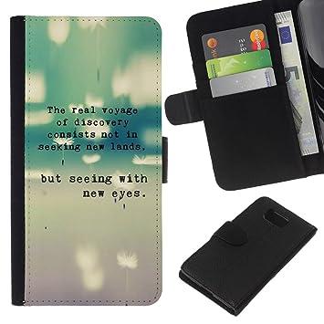 Planetar® Modelo colorido cuero carpeta tirón caso cubierta piel Holster Funda protección Para Samsung ALPHA G850 (Gris trullo Máquina de escribir texto ...