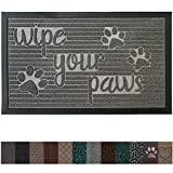 Gorilla Grip Original Durable Rubber Door Mat, 29 x 17, Heavy Duty Pet...