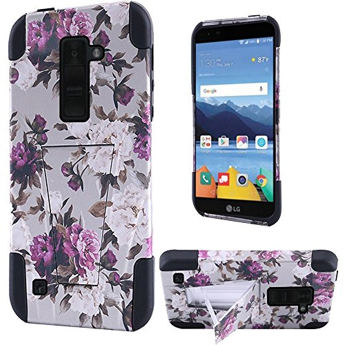 Click to buy HR Wireless Cell Phone Case for LG K8 V VS500 - Romantic Pink White Roses Floral - From only $17.36