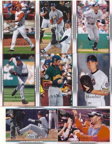 2007 Upper Deck MLB Baseball Series Complete Mint Series One 500 Card Set with Derek Jeter plus (Upper Deck Series Mlb)