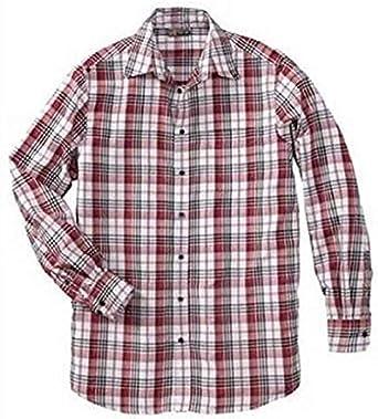 Camisa de Cuadros de No Problem XL for me en Rojo: Amazon.es: Ropa y accesorios