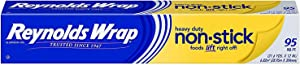 Reynolds Wrap Non-Stick Heavy Duty Aluminum Foil - 95 Square Feet (Limited Edition)