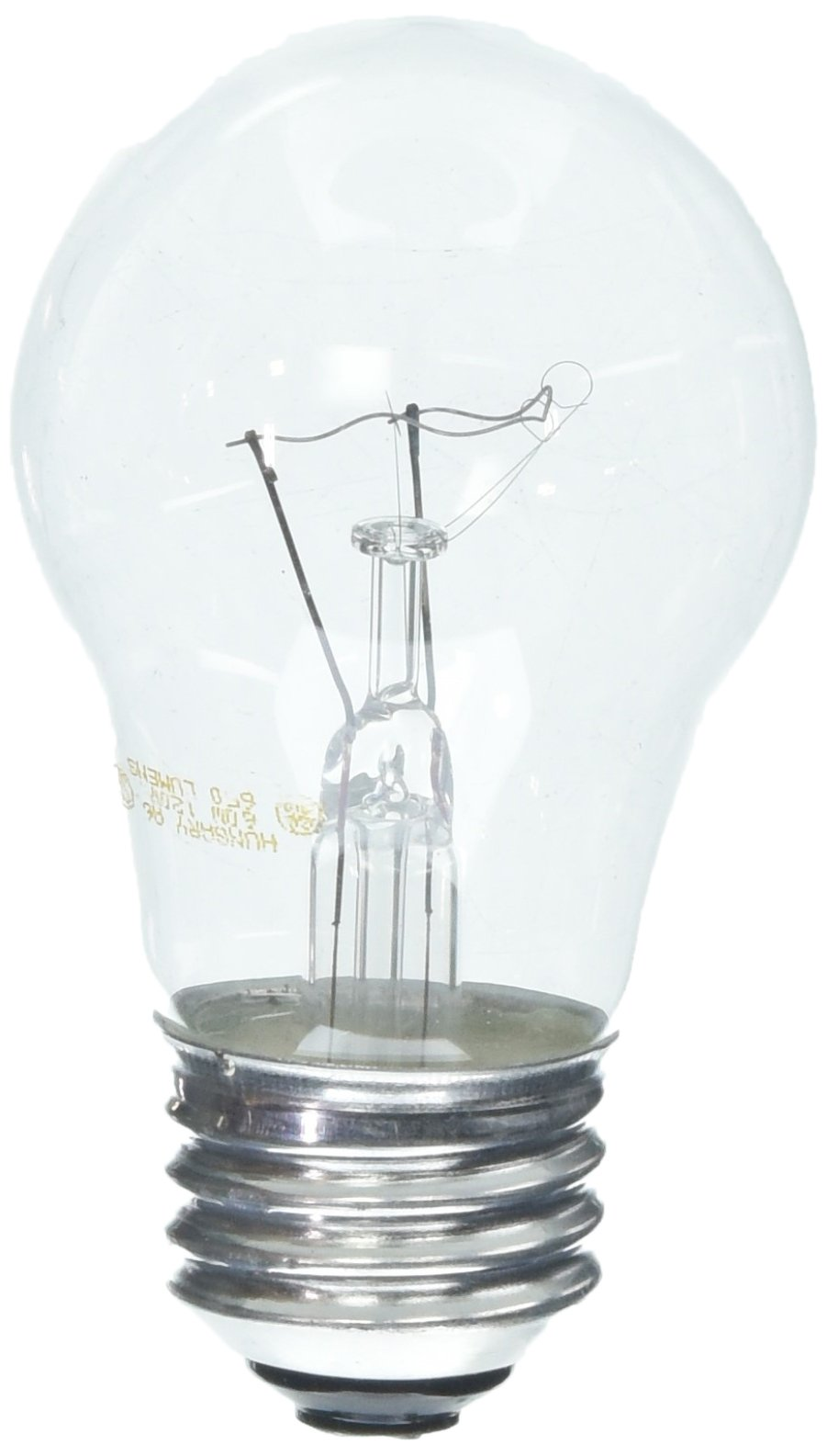 GE Crystal Clear 60 Watt A15 12-pack