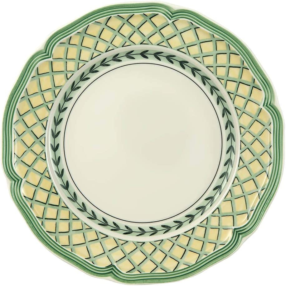 Villeroy & Boch French Garden Orange Salad Plate, 8.25 in, White/Multicolored