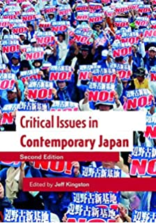 amazon critical issues in contemporary japan jeff kingston