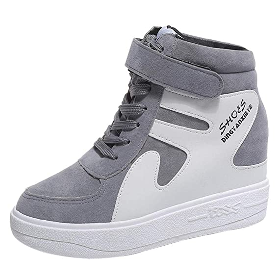 UOMOGO 6 Scarpe sneakers estive eleganti donna scarpe da ginnastica donna  scarpe da corsa donna Sportive Scarpe Da Lavoro - Donna scarpe moda sportive   ... 5045c23515d