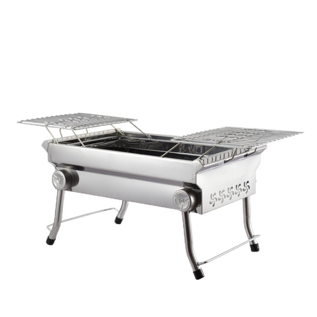 Outdoor Grill Holzkohle Grill Edelstahl Barbecue Pits Outdoor Barbecue Pits Holzkohle Outdoor Grill,A4