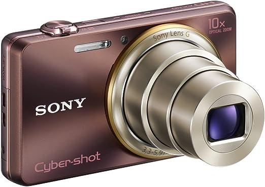 Sony Dsc Wx100t Cyber Shot Digitalkamera 2 7 Zoll Braun Kamera