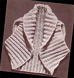 Hug Me Tight Bolero Shrug Knit Vintage Knitting Pattern