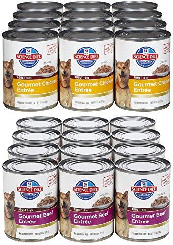 Hill's Science Diet Chicken & Beef Wet Food Bundle