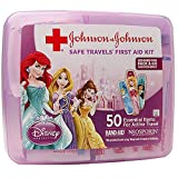 Johnson and Johnson Disney Princess Safe Travels First Aid Kit 50 Piece -- 24 per case.