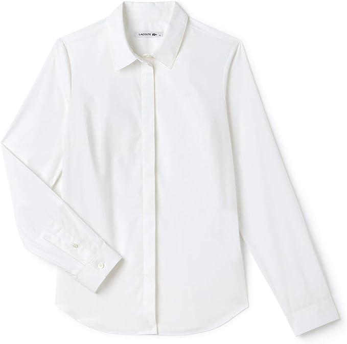 Lacoste Camisa para Mujer: Amazon.es: Ropa y accesorios